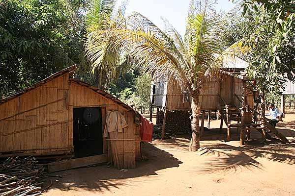In Kameng village in Ratanakiri Province, Cambodia.