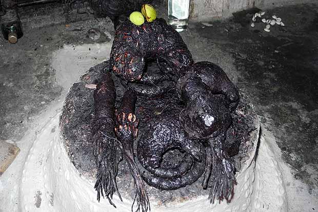 Fetish at the shrine in Ejisu Besease.