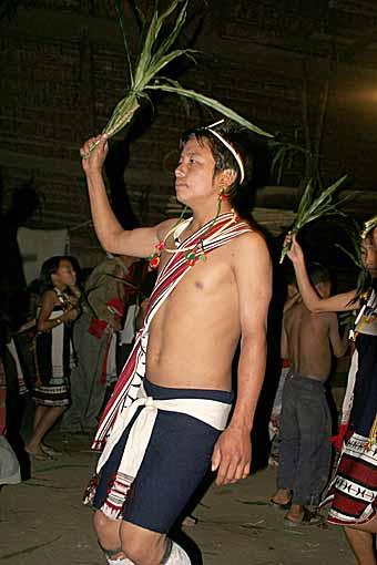 Zeme dancer, North Cachar Hills, Assam, India