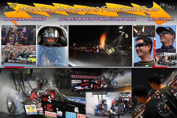 2009 Mitch King Motorsports 2X IHRA TF Champ Poster