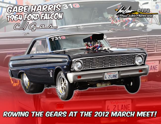 Gabe Harris March Meet 2012