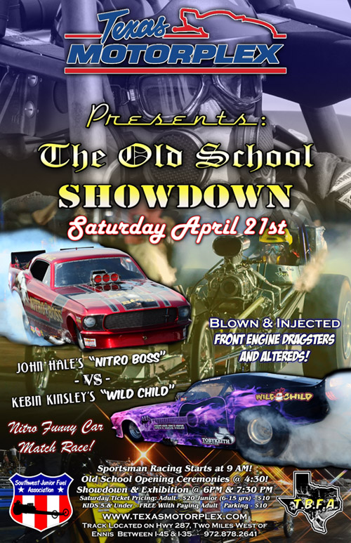 Texas Motorplex Old School Showdown 2012