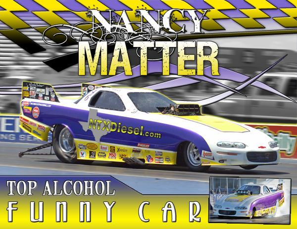 Nancy Matter 2012 Alcohol Funny Car