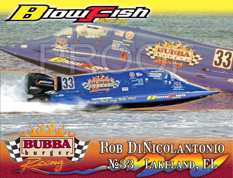 Blowfish PowerBoat  2012