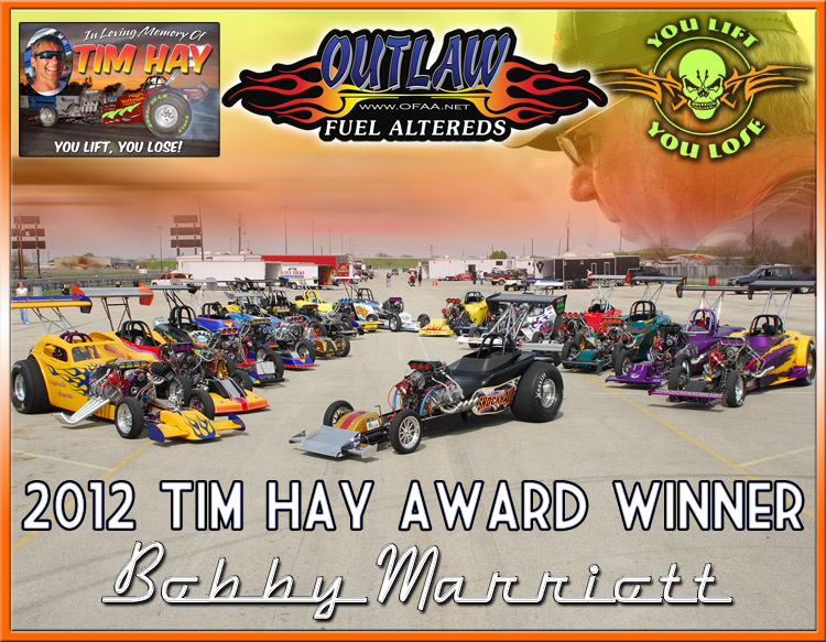 2012 OFAA Tim Hay Award