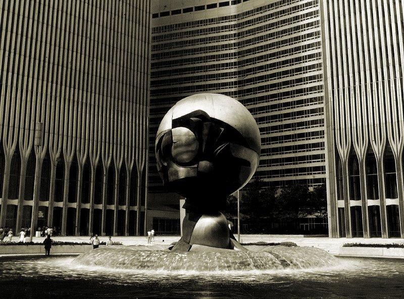 WTC Square Sculpture