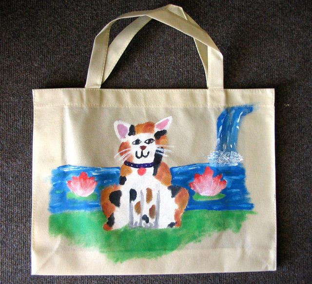 recycle bag, Sheryl, age:8