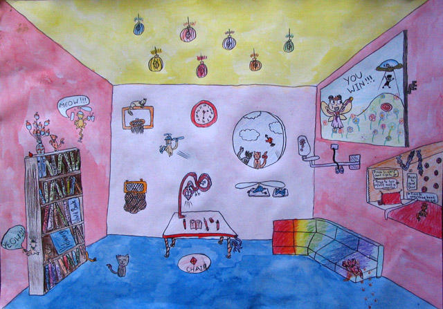 my dream room, Sophie Dong, age:10