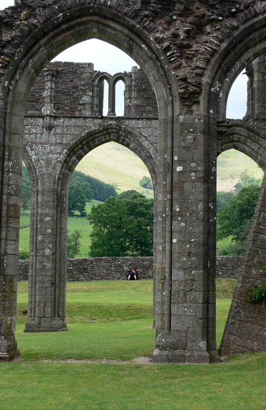 Llanthony Abbey, Black Mountains