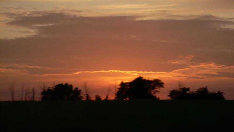 Oxfordshire Sunset