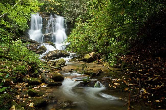 waterfall on Johns Creek 1
