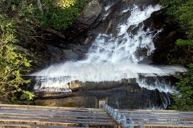 waterfall on Matthews Creek 4