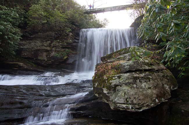 waterfall on Matthews Creek 6