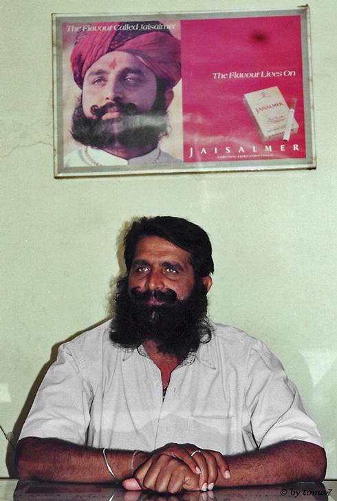 Mr. Bissa (Indias Marlboro man)