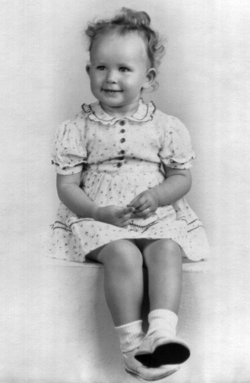 Joanne 2 years - 1944
