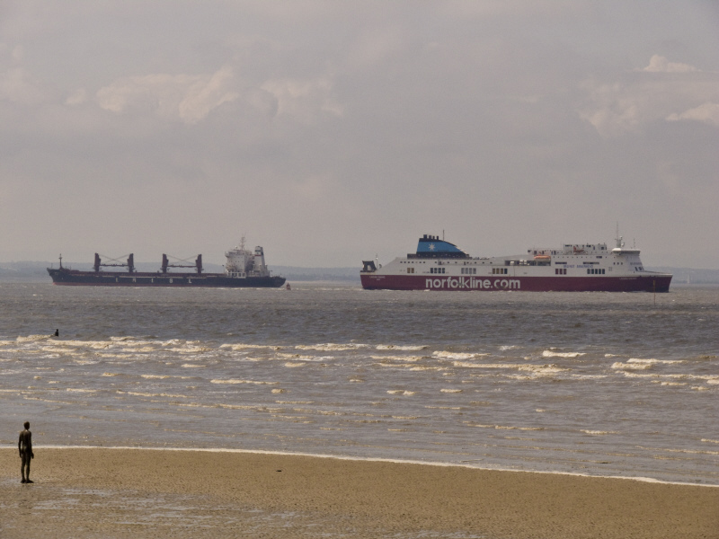 Ferry freighter and 2 iron men.