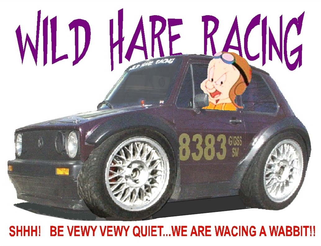 WILD HARE RACING OF THE CAROLINAS 1984 RABBIT GTI 16V CONVERSION G/GSS LAND SPEED RACER CLICK ON NEXT AT RIGHT FOR MORE