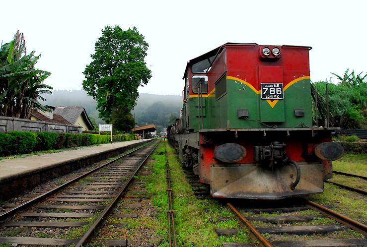 Haputale Station Sri Lanka