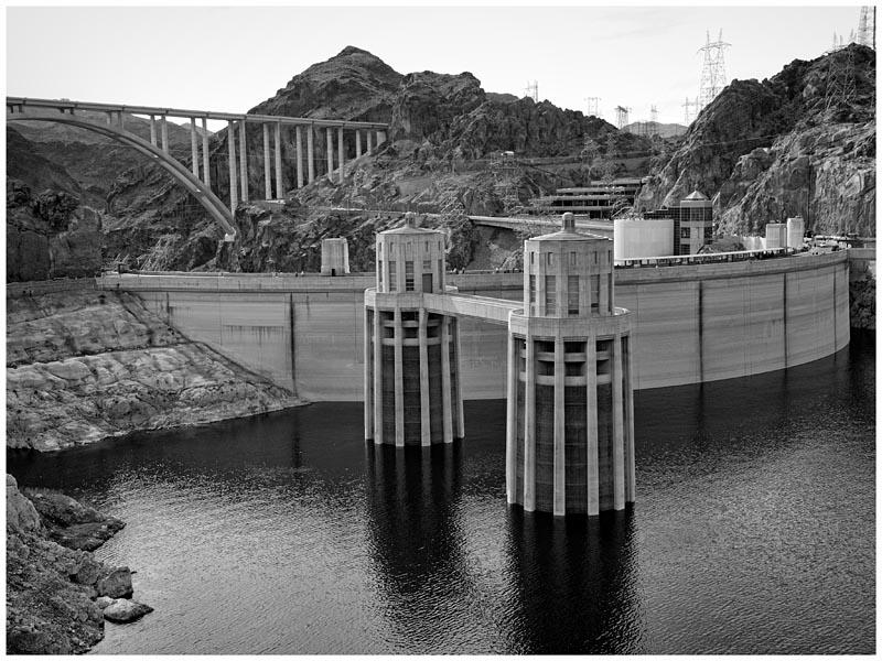 Hoover Dam & Hoover Dam Bypass (Memorial Bridge)