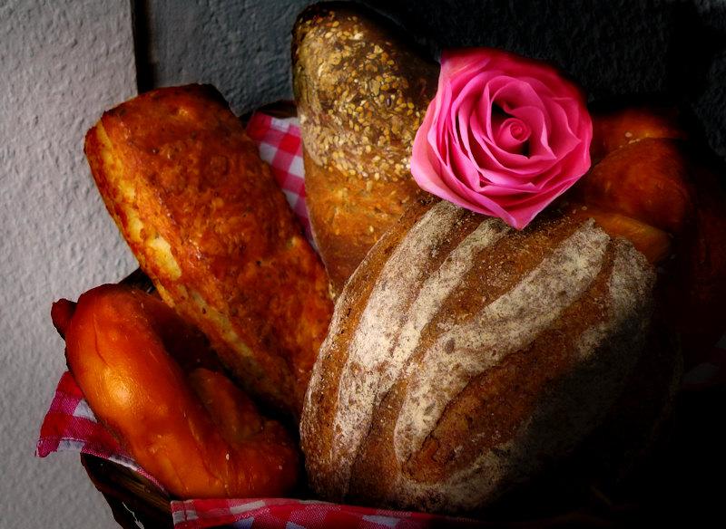 Fresh morning bread