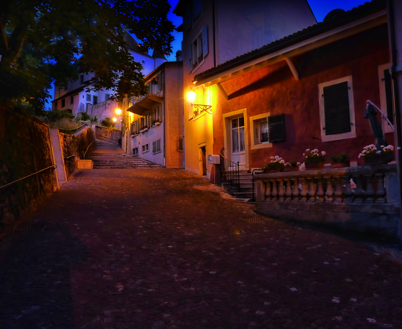 A walk just before dawn...