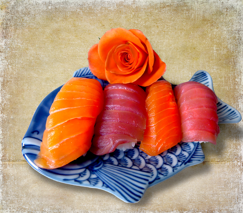 Sushi for one rose...