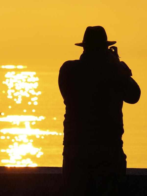 The photographer of sunrise...