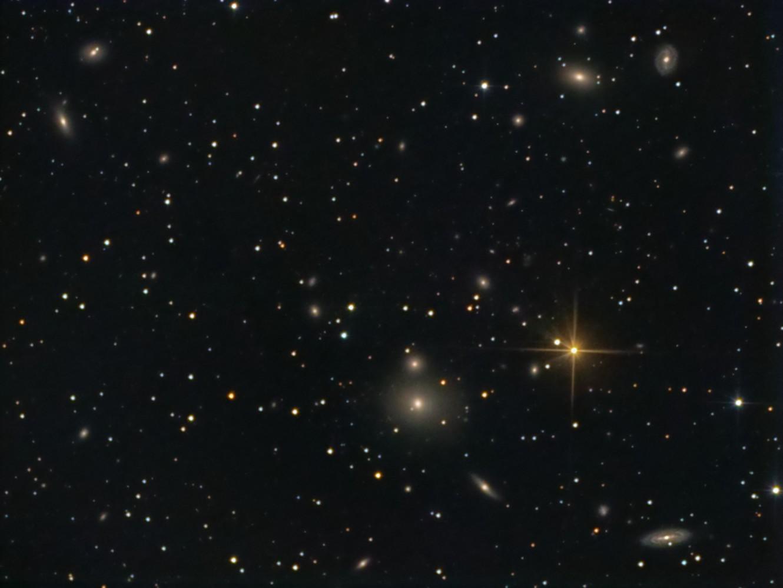 NGC 507 (Arp 229) and Group