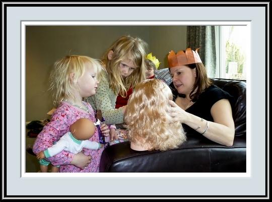 Eloise, Abi & Claire Enjoy A Make Up Lesson, P1010326.jpg