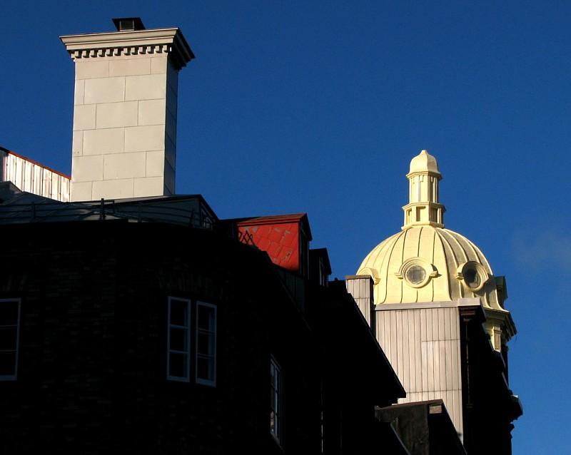 les toits du vieux