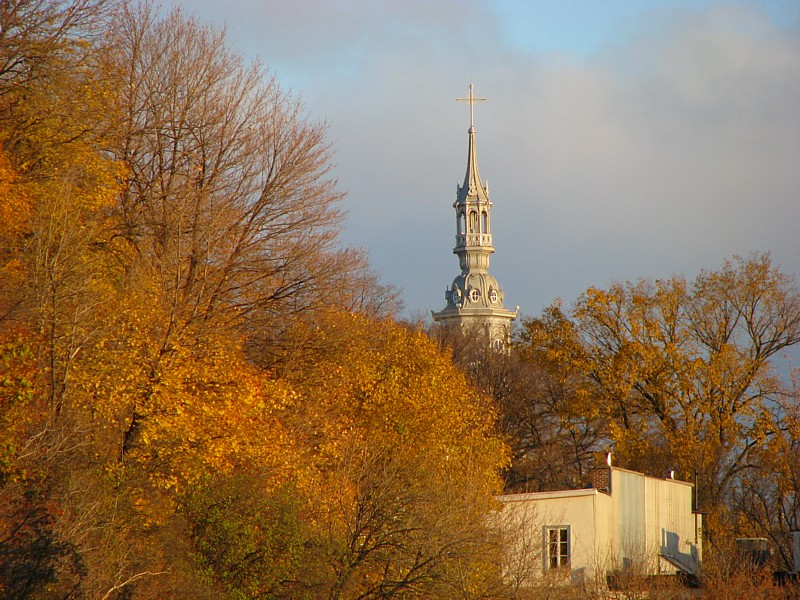 le clocher de la vieille université