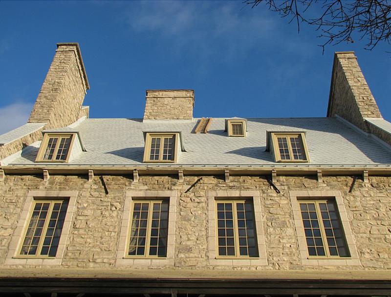 les toits type Petit Champlain