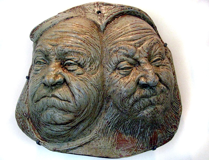 visage à deux faces