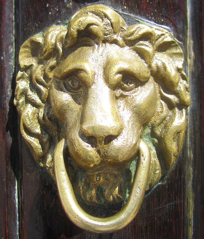 Lanneau lion