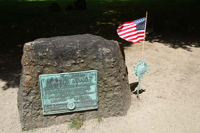 Headstone - Samuel  Adams