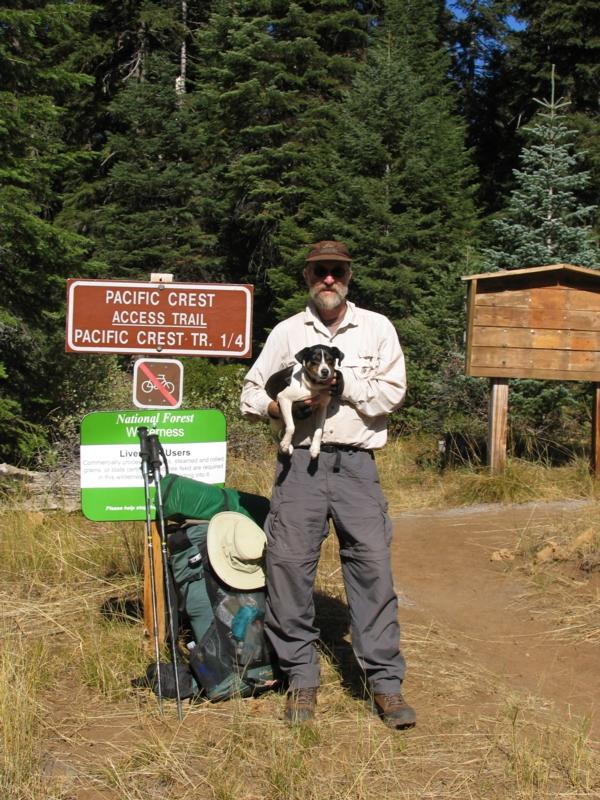 Hwy 140 Trail head, day1