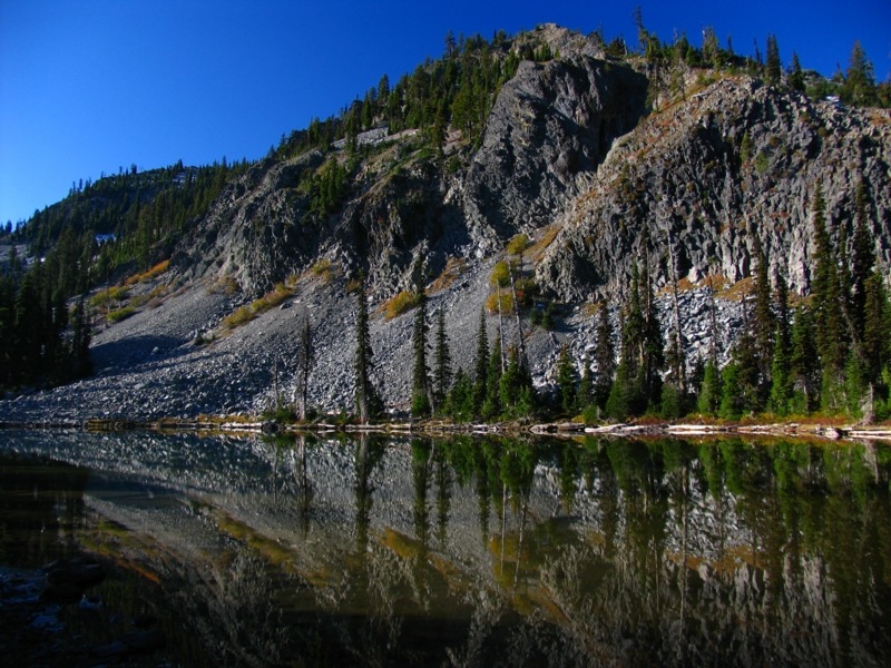Lower Snow lake reflections