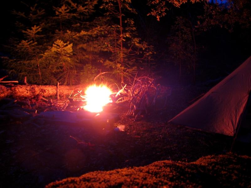 Kelsey Creek campfire