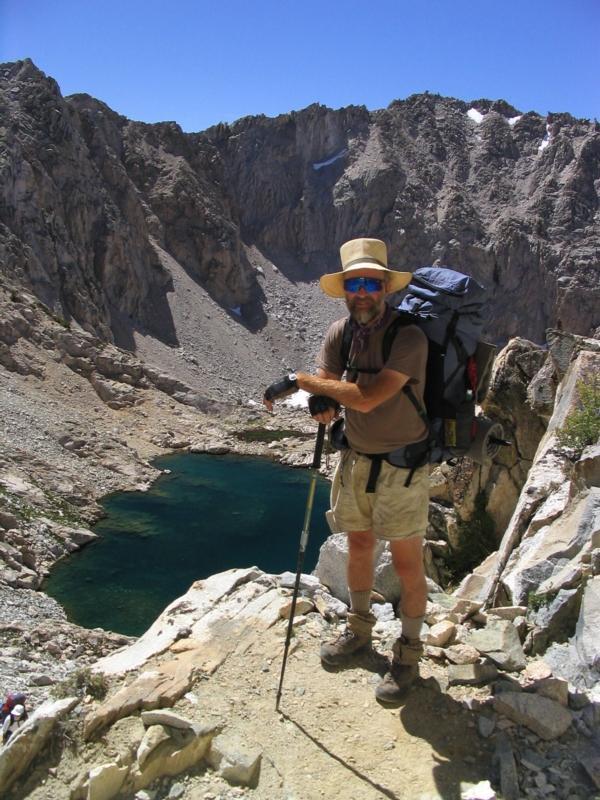 Me on Glen Pass on the John Muir Trail