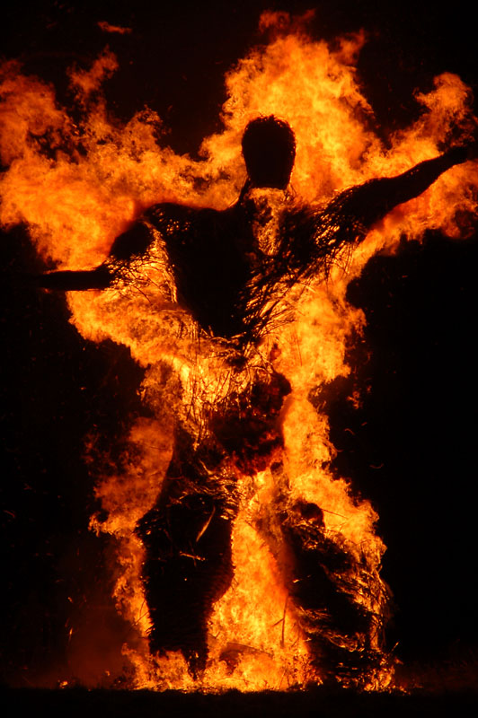 31st October 2010 <br> End of The Wickerman