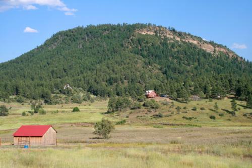 A farm in Southwest Colorado