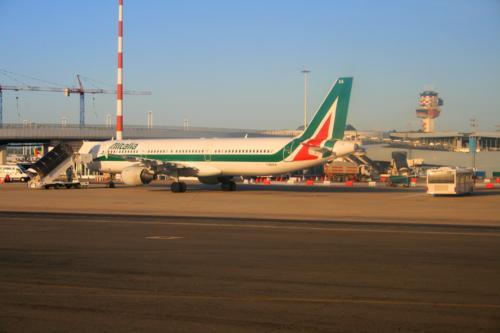 Alitalia at Rome Fiumicino