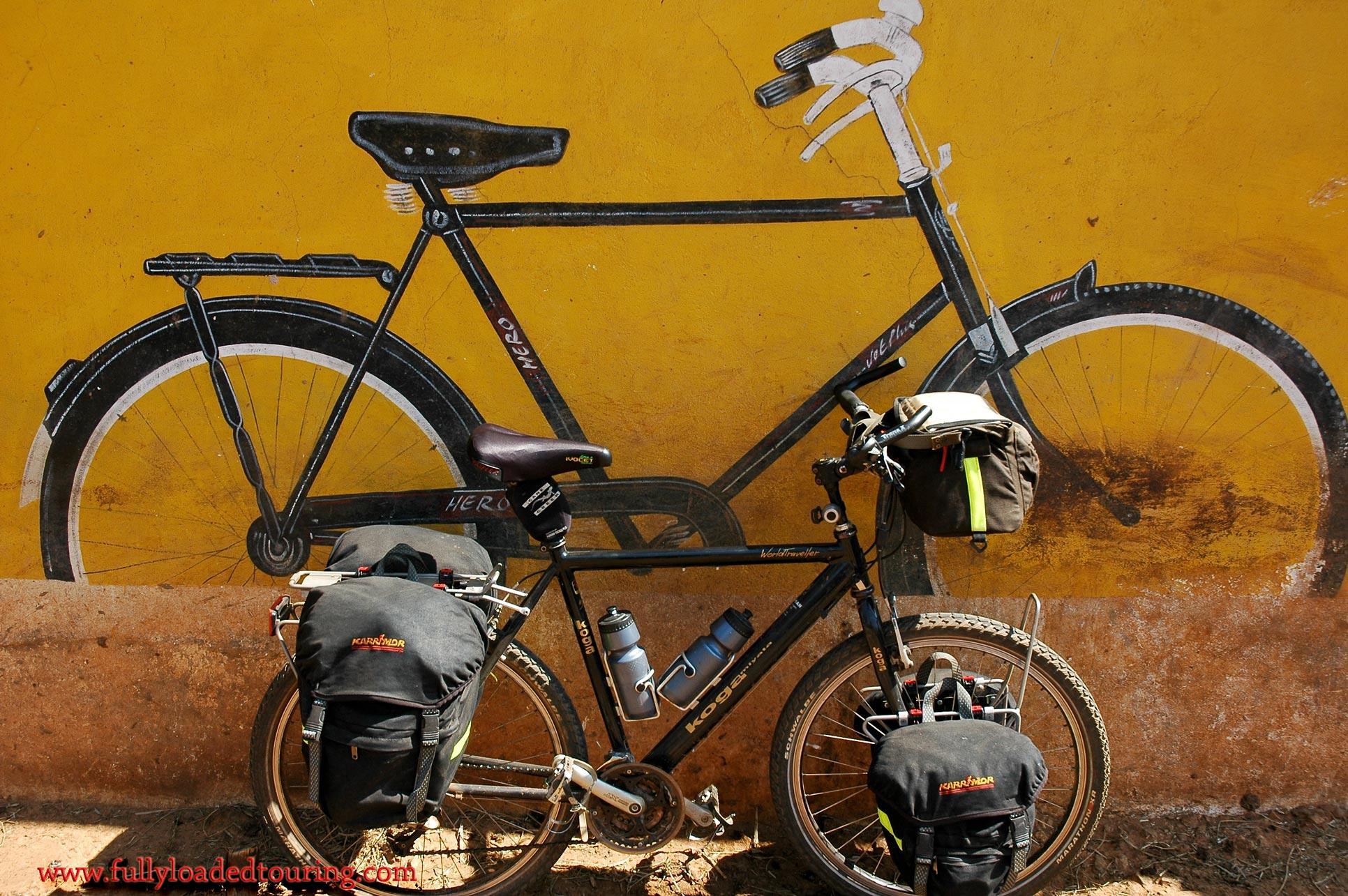 328    Grace - Touring India - Koga Miyata World Traveller touring bike