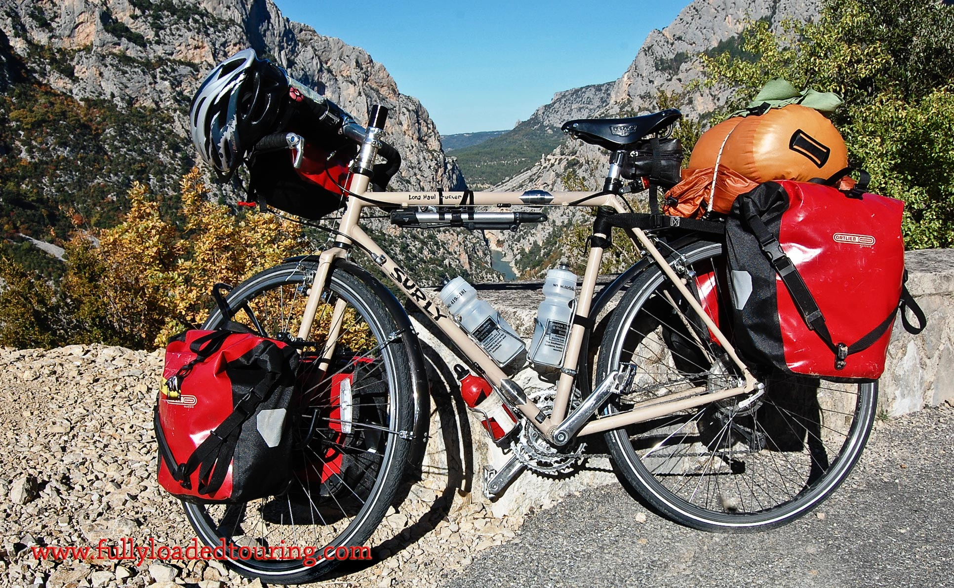 336    Richard - Touring France - Surly Long Haul Trucker touring bike