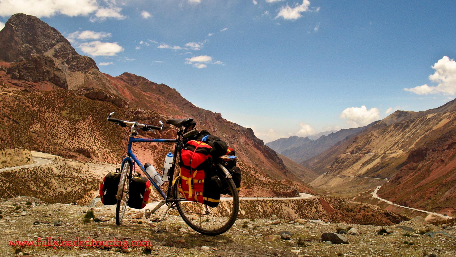 341    Sven - Touring Peru - Koga Miyata Terraliner touring bike
