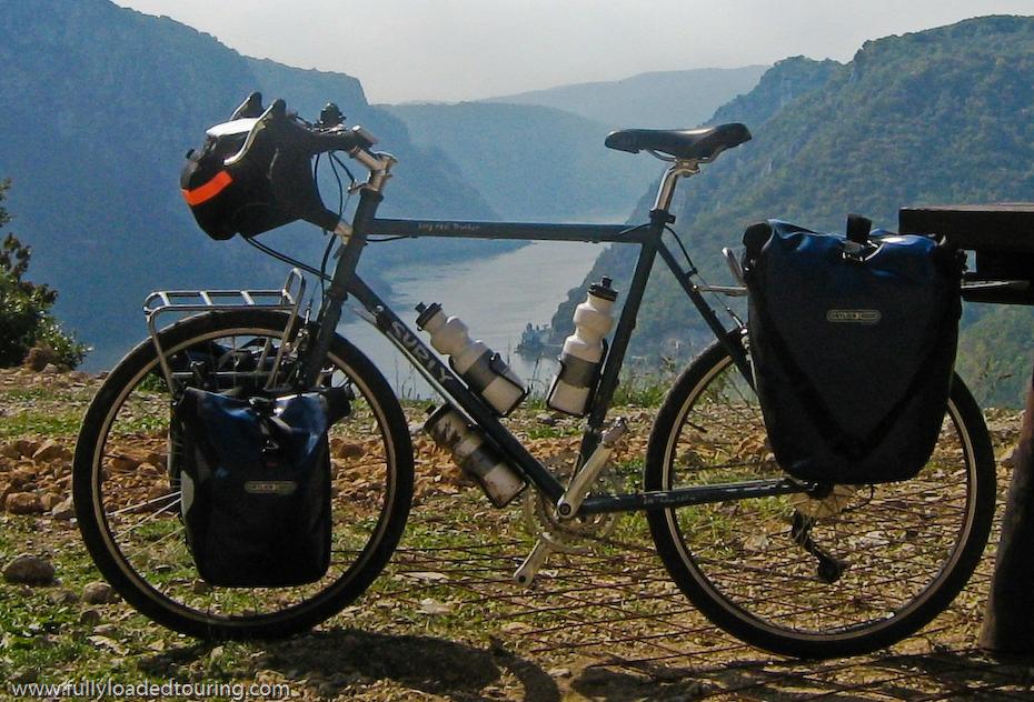 258  Chris - Touring Serbia - Surly Long Haul Trucker touring bike