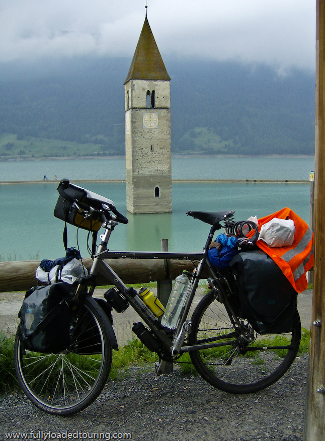 260  Herman - Touring Italy - Gazelle Kathmandu touring bike