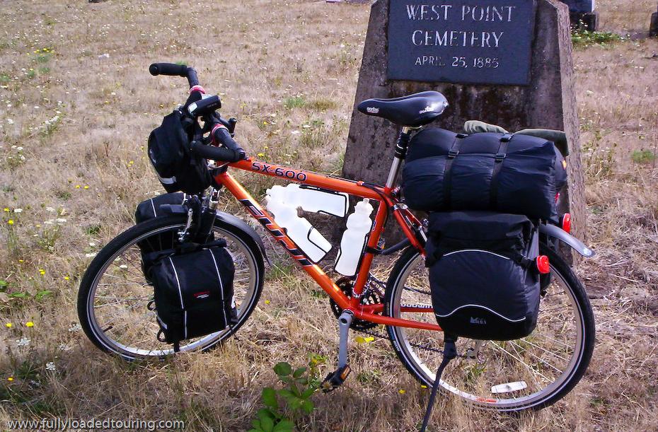 261  Rudy - Touring Oregon - Fuji SX 600 touring bike