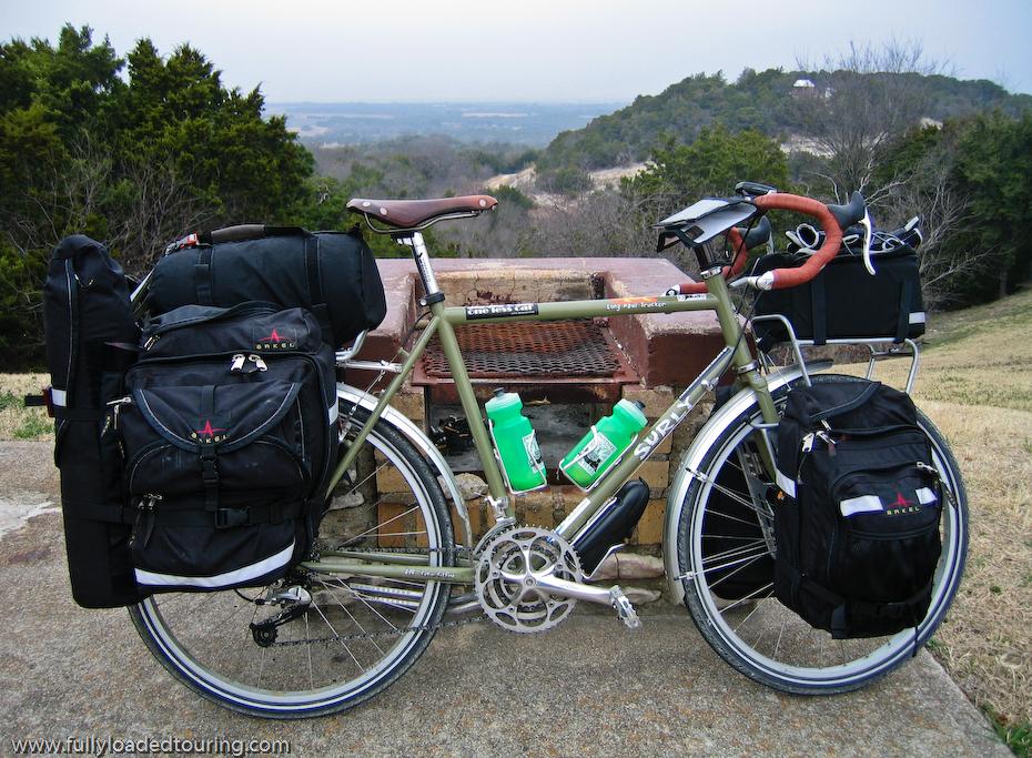 263  Bernie - Touring Texas - Surly Long Haul Trucker touring bike