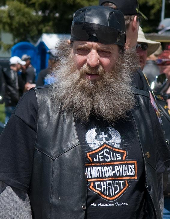 Biker for Jesus Christ